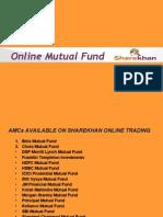 Sharekhan Online Mutual Fund