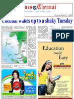 Times Chennai, E Paper, 11 August 2009