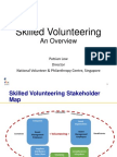 Skilled Volunteering - An Overview