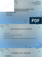 Position control of DC motor using Genetic Algorithm based PID controller