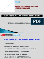 Electrificacion Rural en El Peru y en La Region Huanuco_N. Garcia U.