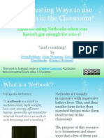 interesting ways to use netbooks in the classroom