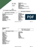 Colección de Dinamicas grupales por categoría =