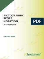 Pictographic Score Notation a Compendium