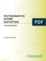Pictographic Score Notation a Compendium