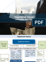 Registered Valuer in Companies Act 2013