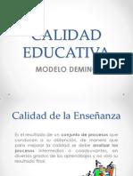 Calidad Educativa [Recuperado]