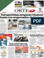 Periódico Norte de Ciudad Juarez 15 de Noviembre de 2013
