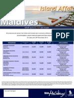 Maldives Specials Sa Holidays