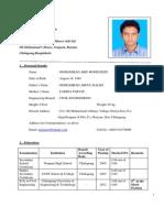 Mohammad Arif Mohiuddin CV FINAL
