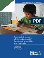 Patricia Ames, Vanessa Rojas - Quien Esta Preparado - Documento de Trabajo 47