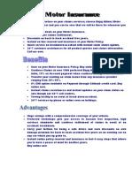 Bajaj Allianz(Motor Insurance)