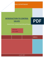 Introduction to Control Valves