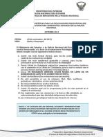 Recomendaciones Psico Cadete Oct 2013