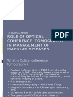 Role of Optical Coherence Tomography in Management Of