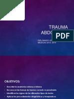 Diplomado Urgencias Trauma Abdominal 2014