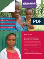 Womankind Annual Report 2013