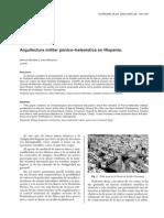 Arquitectura Militar Punico Helenistica Blanquez y Bendala