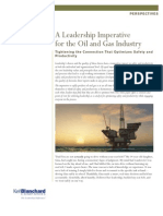 Blanchard a Leadership Imperative Oil and Gas