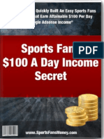 How to Make $100 A Day Online From Your Passions (Sports)