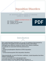 Crystal Deposition Disorders