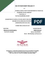 FINAL REPORT ON KOTAK 1.docsummer training report on kotak x