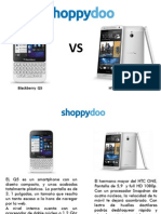 Comparador de precios Blackberry Q5 y HTC Max 16 Gb