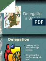 Delegation Principles