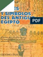 Juan Garcia Font - Dioses y Simbolos Egipcios