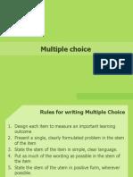 4 Multiple Choice