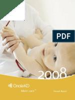 Oriola-KD Corporation Annual Report 2008