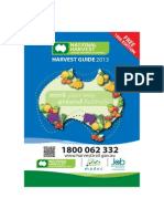 Harvest Guide August 2013