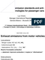 Evolution of Emission - Cars