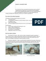 EXCAVATION and BASEMENT CONSTRUCTION