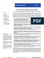 The distributed business index (DBI)