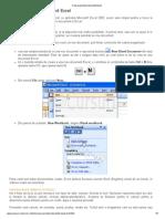 Crearea Primului Document Excel