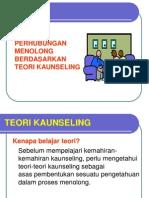 Nota Pljr Perhubungan Menolong Teori2 Kaunseling