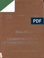 Untaru Calculul Si Constructia Automobilelor