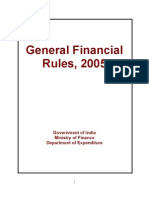 General Financial Rules, 2005