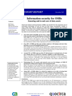 Information security for SMBs