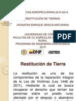 restitucion