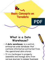 Basic Concepts on Teradata