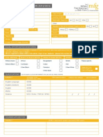 The MFG Sixth Form Application Form 2014