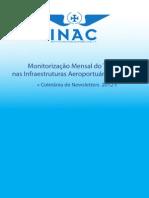 Monitorização Mensal do Tráfego nas Infraestruturas Aeroportuárias Nacionais - Coletânea de Newsletters 2012