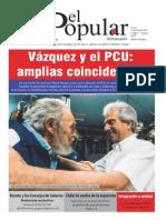 El Popular 250 PDF Órgano de prensa del Partido Comunista de Uruguay. 15/11/2013.