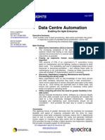 Data centre automation