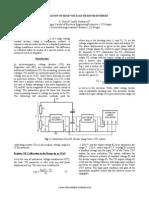 Calibration of High Voltage Resistor Dividers