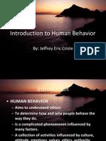 3728466 Introduction to Human Behavior