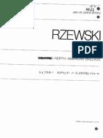 Rzewski - North American Ballades