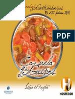 Recetario VIII Jornadas Gastronomicas de La Cazuela y Los Guisos